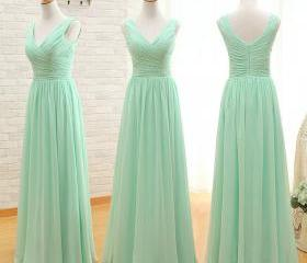 Charming mint green bridesmaid dress cheap bridesmaid for Cheap wedding dresses in ct