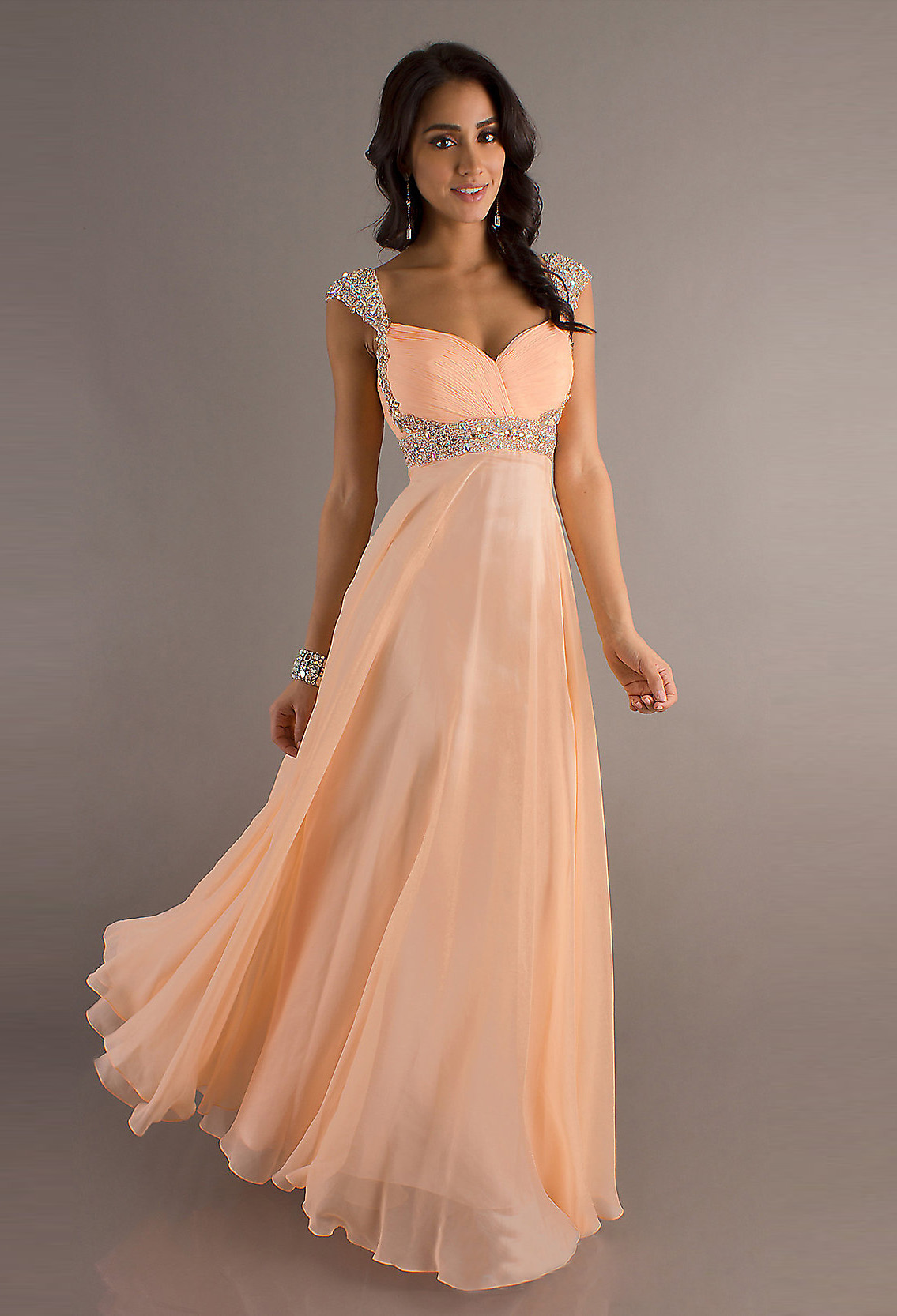 Chiffon Prom Dress 2015