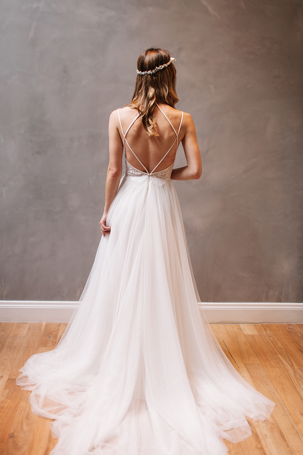 sexy backless wedding dress beautiful backless wedding With strappy wedding dress