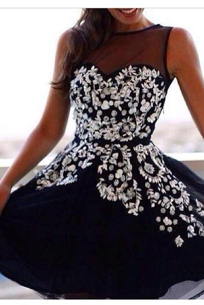 2015 Appliques short Graduation Dresses, Short/Mini Graduation Dresses, A-Line Graduation Dresses, 2015 New Arrival Graduation Dresses