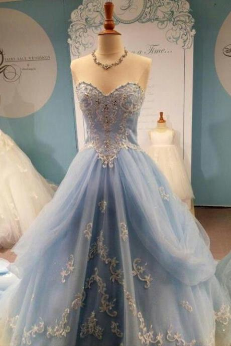2015 Appliques and Lace Prom Dresses,A-Line Floor-Length Prom Dresses, Sweetheart Prom Dresses, Prom Dresses 2016, Charming Zipper Evening Dresses