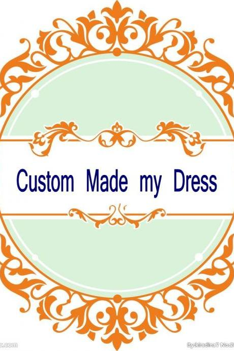 Extra Payment for Custom Made Dress Service